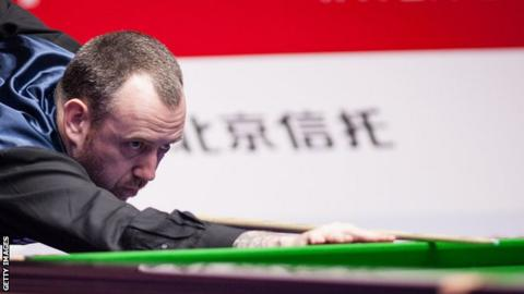 Mark Williams Former World Champion Considered 39 Packing In 39 Snooker Bbc Sport