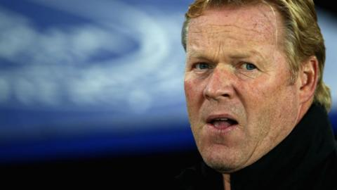 It has been a difficult start to the season for Ronald Koeman