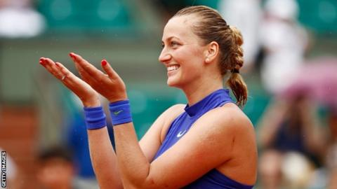 Kvitova makes winning return to tennis