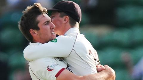 Craig Overton wicket