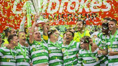 Celtic are defending their Scottish Premiership title