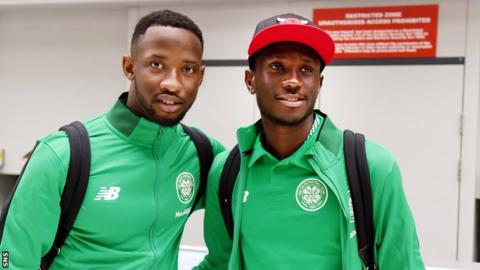 Celtic duo Moussa Dembele and Eboue Kouassi