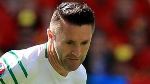 Robbie Keane made two substitute appearances for the Republic of Ireland at Euro 2016