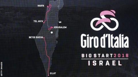 Israel to host start with stage in Jerusalem