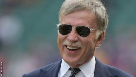 Stan Kroenke: 'My Arsenal shares are not for sale'