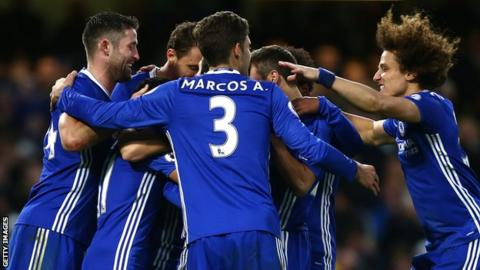 Pedro scores incredible chipped goal in Chelsea's win over Bournemouth