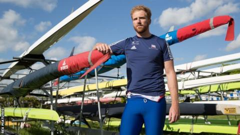 British Olympic rower Will Satch