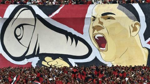 USM Alger fans are hoping their side can reach the final for only the second time in their history