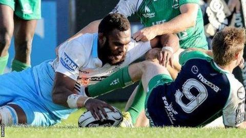 Nakarawa's try early in the second half gave Glasgow hope, but they couldn't capitalise