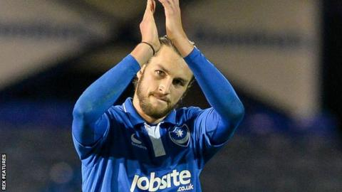 Portsmouth defender Christian Burgess
