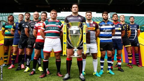 Premiership salary cap to remain at 7m in 2018 19 and 2019 20 bbc sport - English rugby union league tables ...
