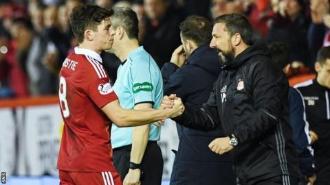 Ryan Christie and Derek McInnes
