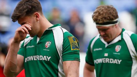 London Irish players