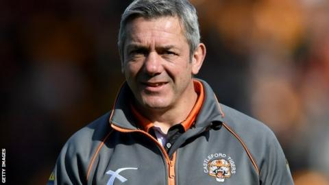 Castleford coach Daryl Powell
