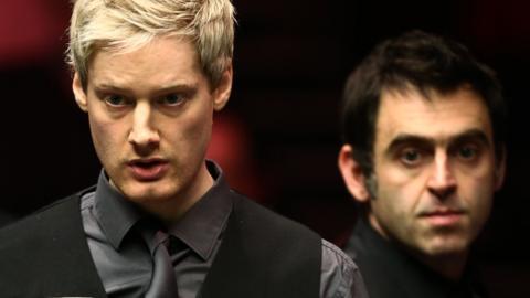 Neil Robertson and Ronnie O'Sullivan