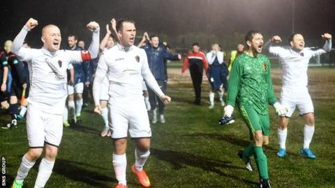 East Kilbride knocked out Stenhousemuir to reach the fourth round of the Scottish Cup