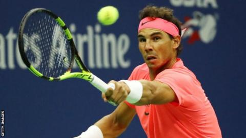 Nadal fights back to make US Open fourth round