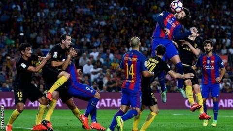 Copa del Rey: Barcelona to face Atletico Madrid in semi-final