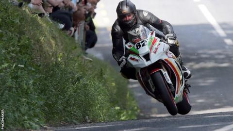Derek Sheils won both big bike races at Skerries
