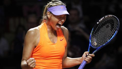 Russia tennis player Maria Sharapova