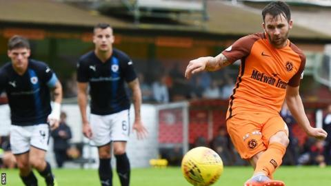 Dundee United striker James Keatings