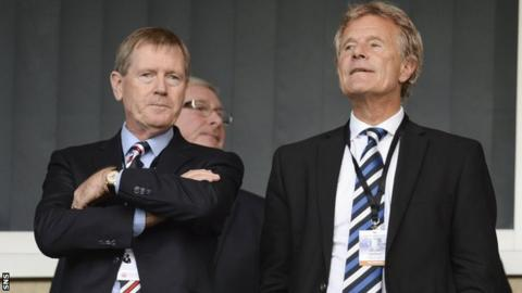 Dave King and Alastair Johnston