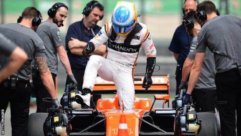 FURIOUS Fernando Alonso leaves Spanish Grand Prix track: He's playing TENNIS instead