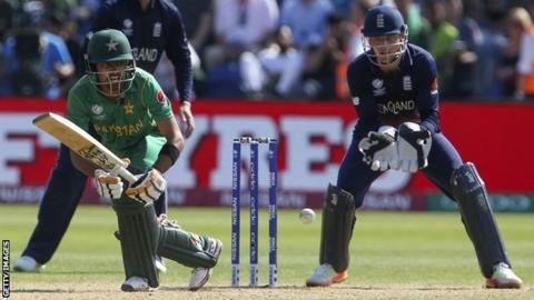 Action image England v Pakistan