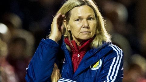 Anna Signeul is stepping down as Scotland head coach