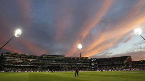 A day-night one-day match at Edgbaston