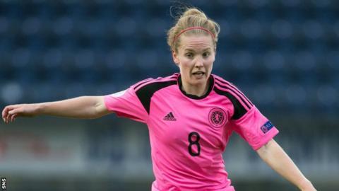 Scotland midfielder Kim Little