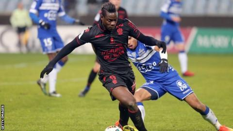 Mario Balotelli claims he was racially abused during Nice's draw with Bastia