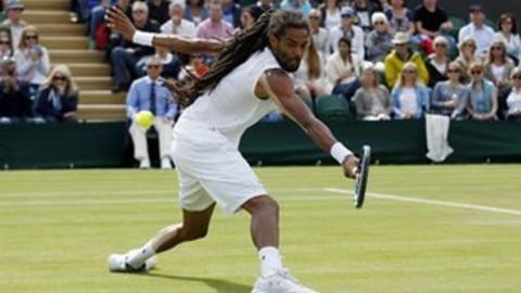 Dustin Brown drop shot 'best shot of the Championships so far'