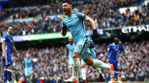 Guardiola wants dinner with Aguero when he breaks Man City record
