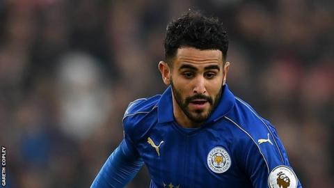Leicester's Riyad Mahrez named CAF player of the year