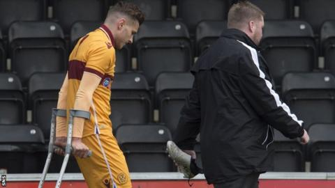 Former Motherwell striker Jacob Blyth