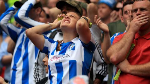 Huddersfield fan