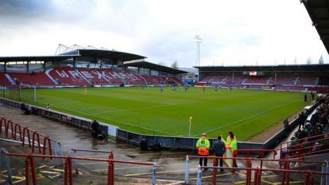 Wrexham stadium