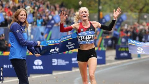 Flanagan ends 40-year wait in New York Marathon