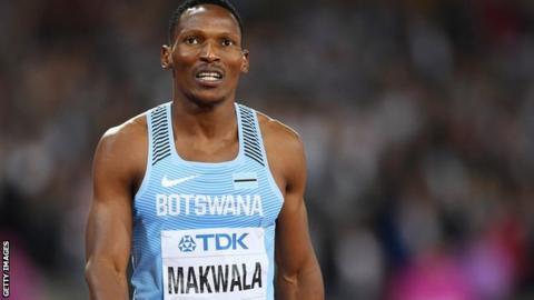 Botswana's Isaac Makwala