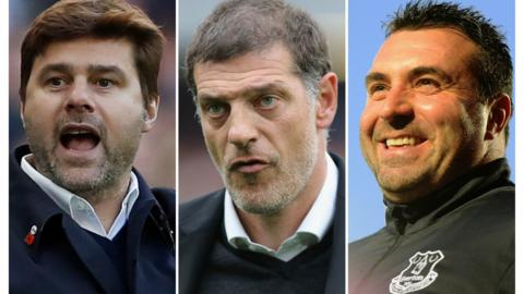 Pochettino, Bilic, Unsworth