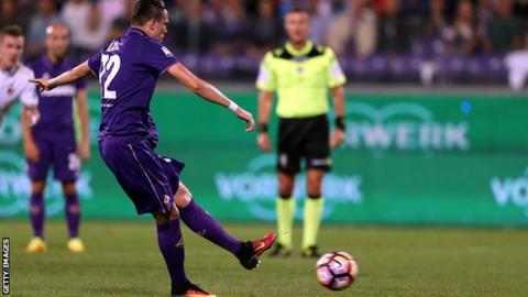 Fiorentina's Josip Ilicic