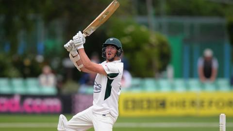 Worcestershire all-rounder Jack Shantry
