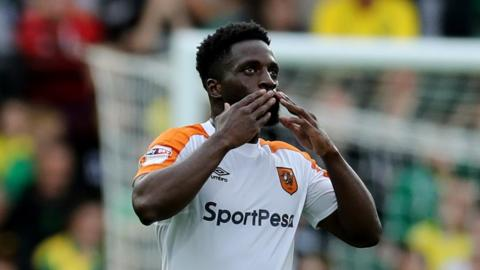 Nouha Dicko's first goal for Hull City came on his seventh appearance for the club