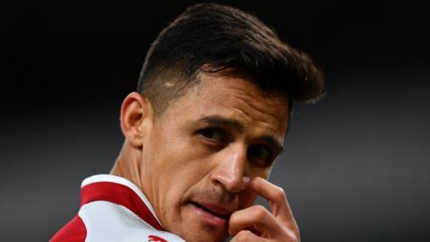 Arsenal's Chilean forward Alexis Sanchez