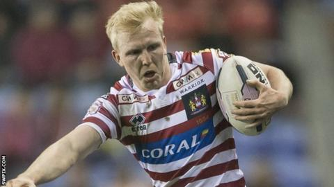 Dan Sarginson Wigan Warriors