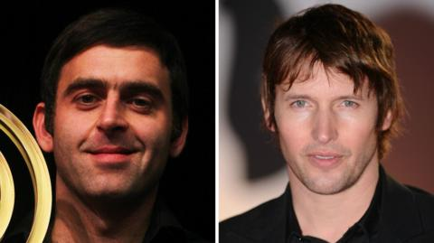 Ronnie O'Sullivan & James Blunt