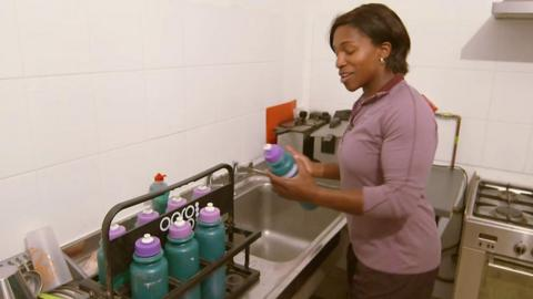 Maggie Alphonsi tries volunteering roles for BBC Unsung Hero