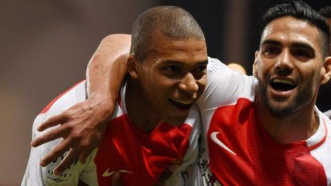 PSG sign £160m-rated teenage striker Mbappe on loan from Monaco
