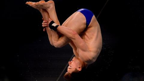 Matty Lee, team GB diver